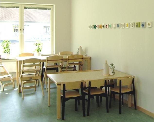 blom, krokens förskola i Härryda