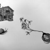 """idioterna/idiots"" teckning © 2016(2012) k.kennedy"