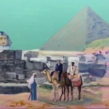 Marie falksten pappa i egypten opd 120x150cm