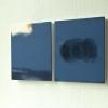Två målningar, Blå