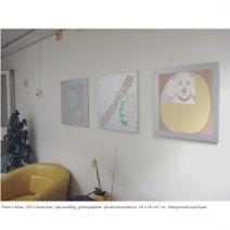 Peter-hefner-2013-december-olje-lackfc3a4rg-glitterpaljetter-pc3a5-aluminiumskivor-50-x-50-cm-st-sahlgrenska-sjukhuset
