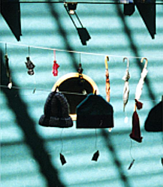 Installation, Biopalatset / Sandrews, Göteborg, 1999