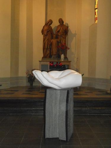 Dopfund Sankt Laurentius kyrka.    (Co production Lukas Arons (SE) & Tom Flick (LU))
